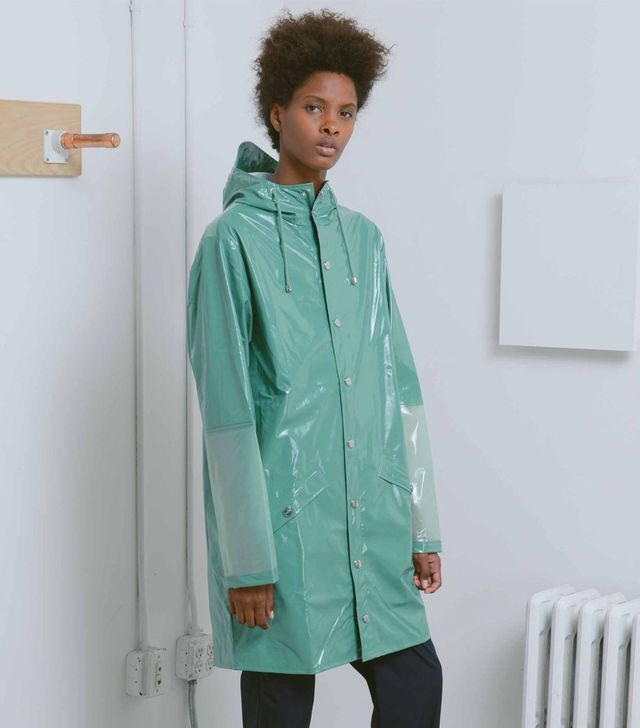 Rains Green LTD Long Jacket