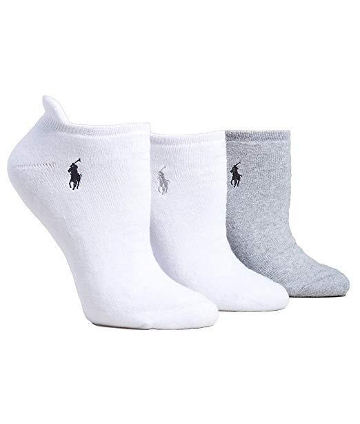 Ralph Lauren Heel Tab Low-Cut Socks 3-Pack