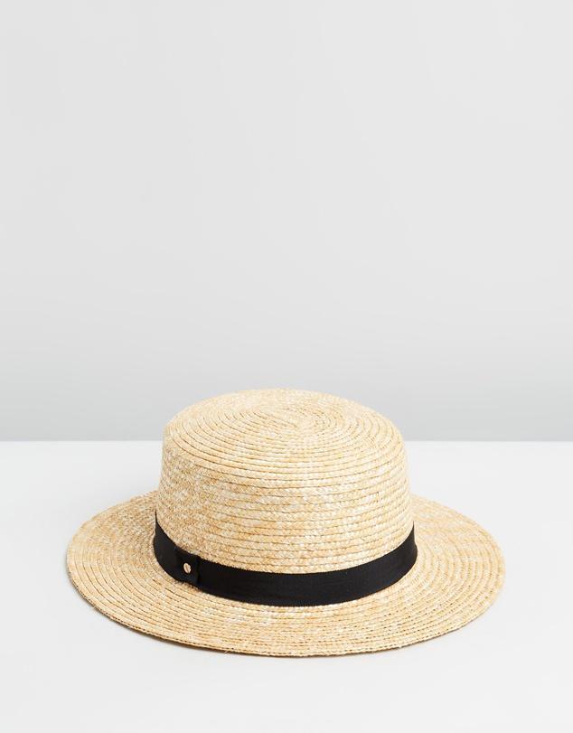 Ace Of Something Thalia Straw Boater Hat
