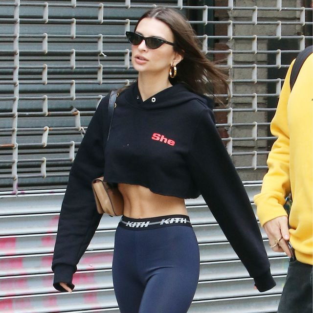 Every Single Way Emily Ratajkowski Styles Bike Shorts