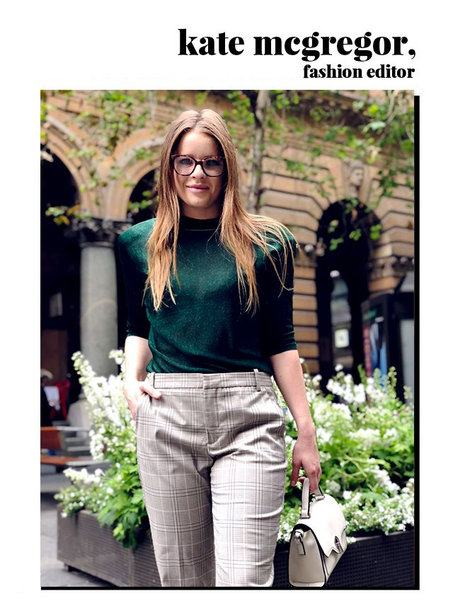 "<p>Fashion editor McGregor, knows exactly how to bring some sophistication to any outfit. ""A pair of frames can immediately elevate an outfit. They are also a really <a..."