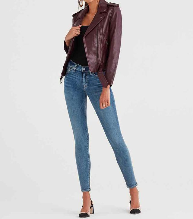 7 for All Mankind b(air) Authentic Skinny Jeans