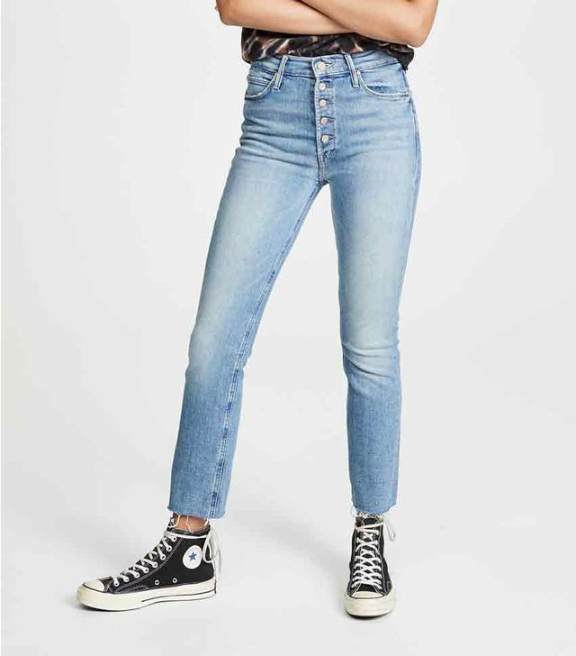 The Pixie Dazzler Ankle Fray Jeans