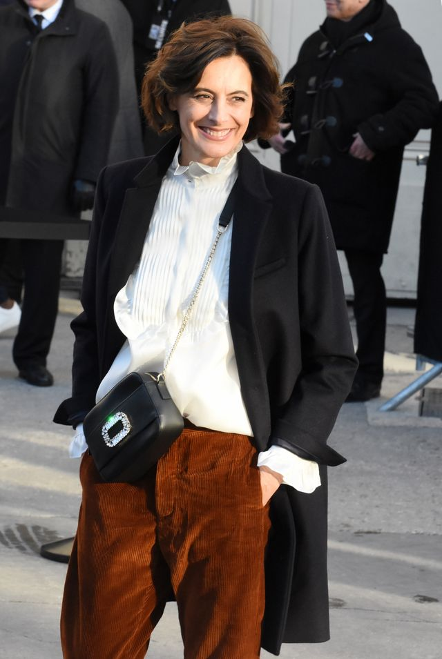 """<p><em>Fressange at Paris Fashion Week SS18.</em></p> <h5><strong>You don't have to be rich to be stylish</strong></h5> <p>""""Usually, it's not the most wealthy people who are the most..."""