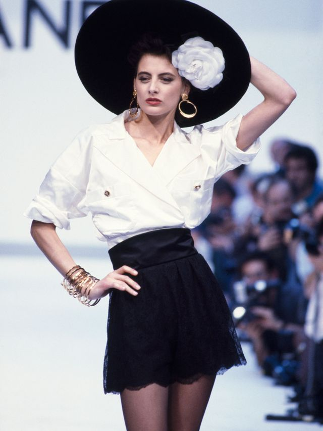 """<p><em>Fressange models for Chanel Haute Couture FW87/88.</em></p> <h5><strong>Invest in a good quality accessories</strong></h5> <p>""""I'd advise everyone to have a few pieces that are..."""