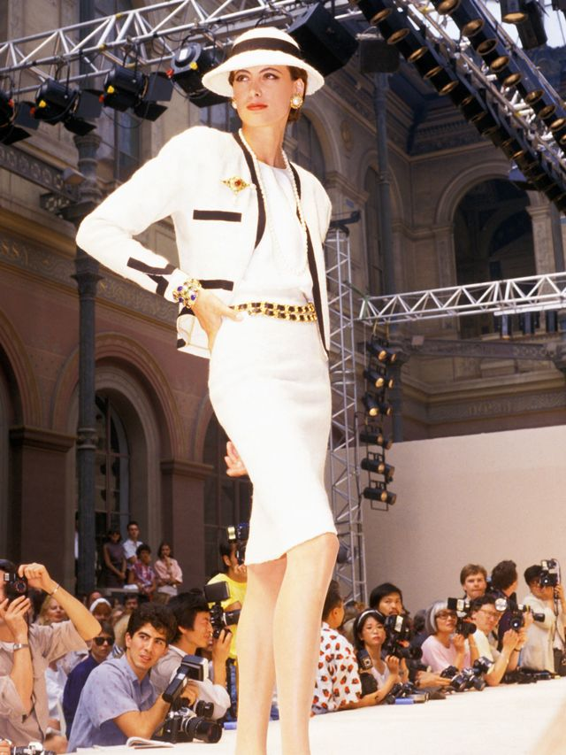 """<p><em>Fressange models for Chanel Haute Couture FW86/87.</em></p> <h5><strong>It's cool to care about fashion</strong></h5> <p>""""I see some women and they're proud to say, 'I..."""