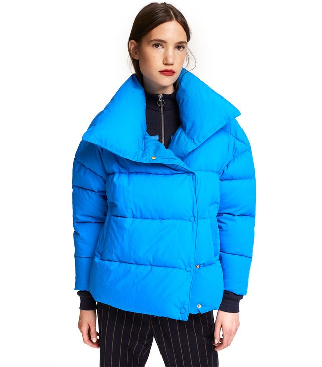 Closed Cotton Fabric Quilted Jacket