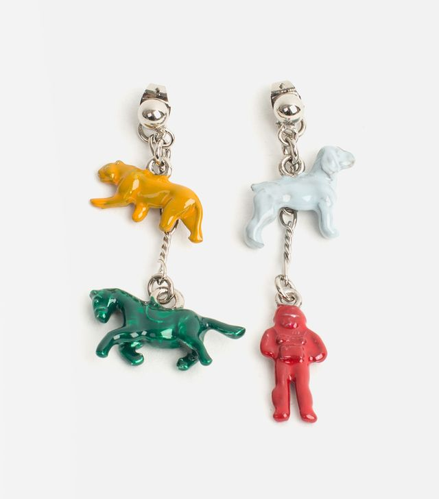 Marni Enamel Toy Earring