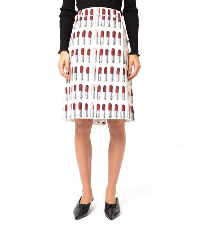 Prada Lipstick Skirt
