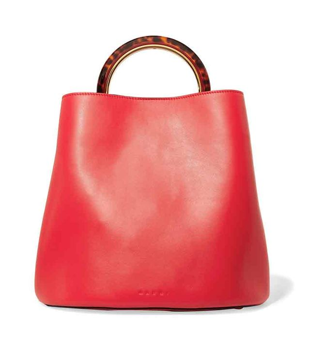 Pannier Large Leather Tote