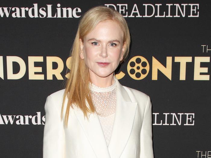How Nicole Kidman Wears Skinny Jeans on the Red Carpet | Who