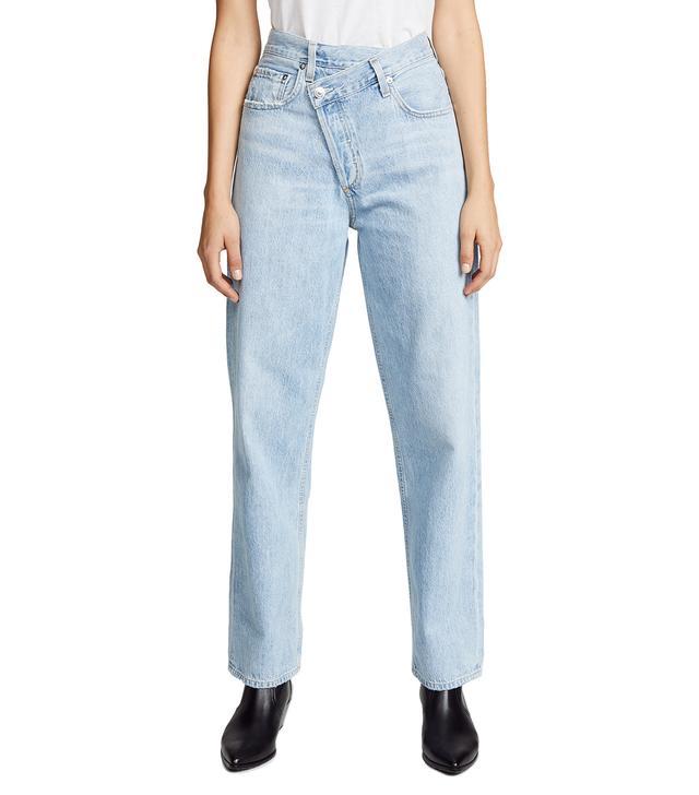 Crisscross Jeans