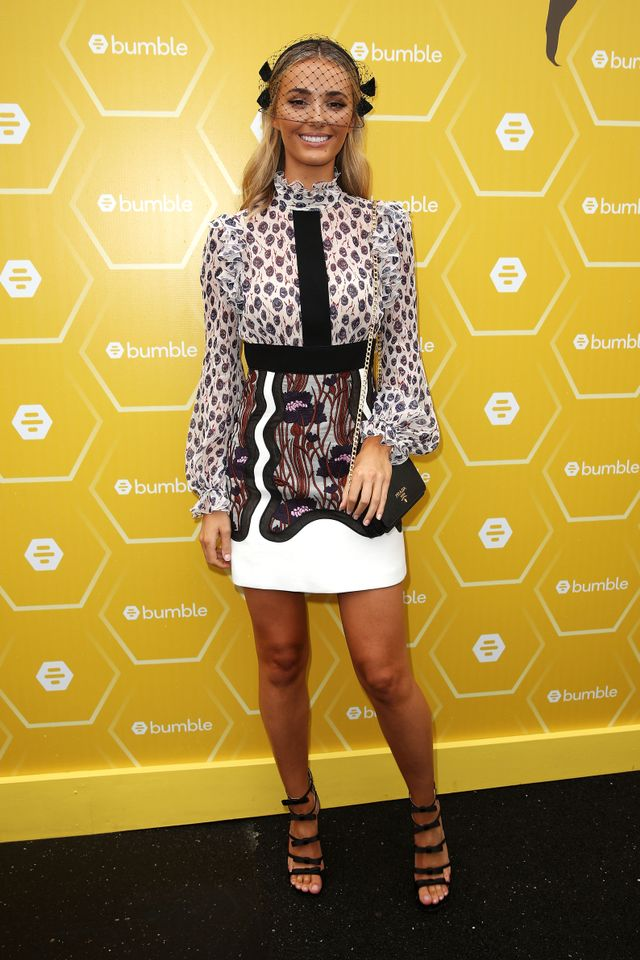 """<p>Brooke Hogan wearing an outfit by<a href=""""https://www.yoox.com/au/women"""" target=""""_blank"""">Yoox</a> and a<a href=""""https://www.neridawinter.com/"""" target=""""_blank"""">Nerida Winter</a>..."""