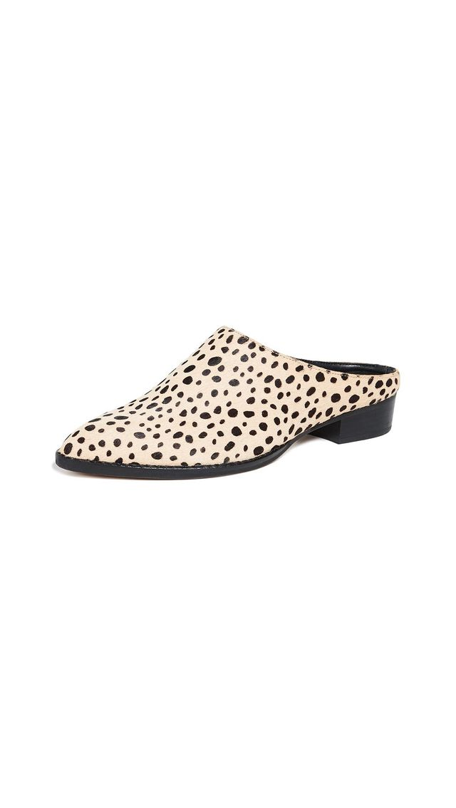 Aven Point Toe Mules