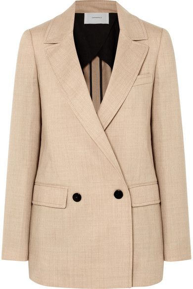 Casasola Double-Breasted Wool Blazer