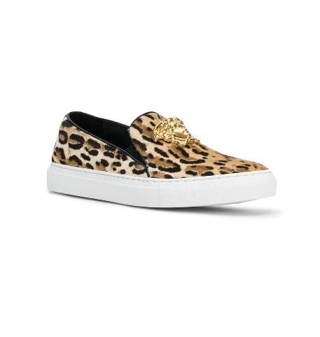 Versace Leopard Medusa Sneakers