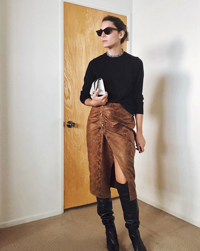 8685aa7e51fa The Best Simple Party Outfits to Wear This Holiday Season | Who What ...