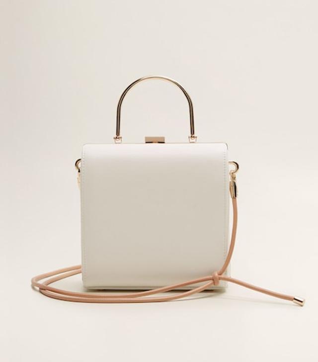 Mango Metallic Details Bag
