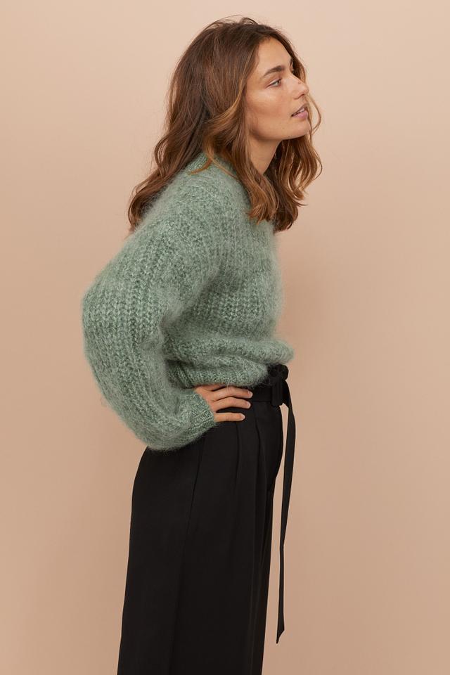 H&M Chunky-Knit Wool Sweater