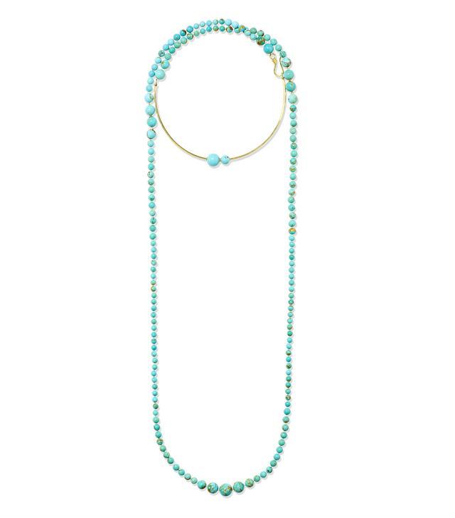 Nova 18-Karat Gold Turquoise Necklace