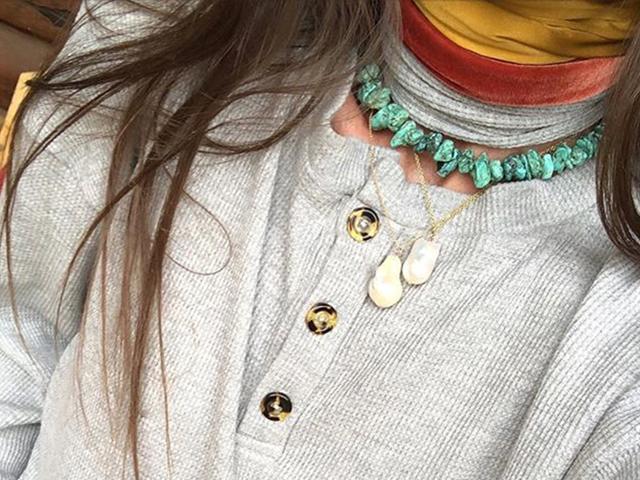 Turquoise jewellery trend