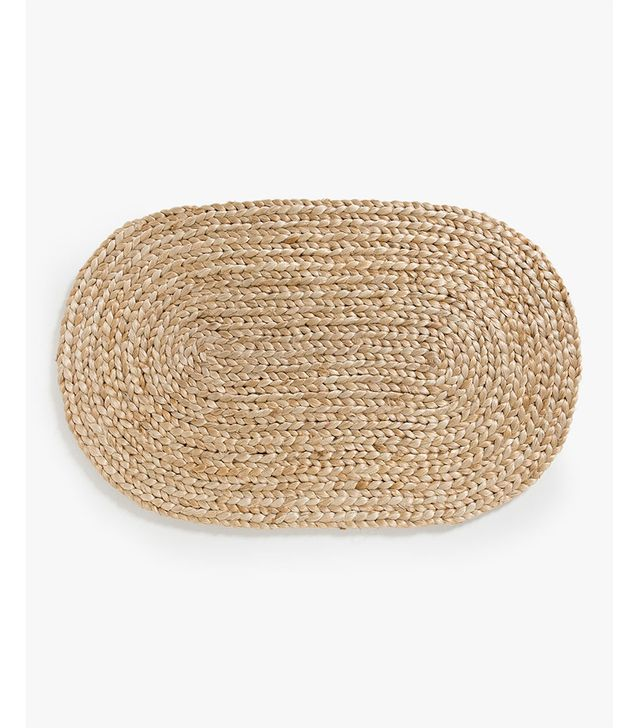 Zara Home Oval Jute Doormat