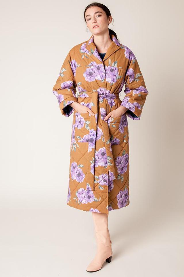 Rachel Antonoff Louie Quilted Robe