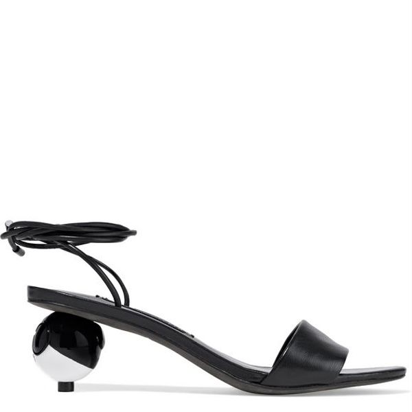Alice and Olivia Coraline Leather Sandals