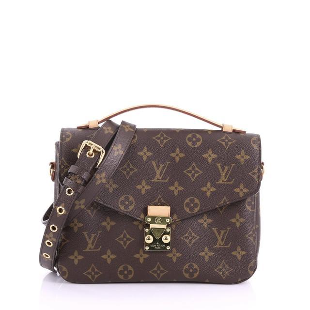 Louis Vuitton Pochette Metis Monogram Canvas Bag