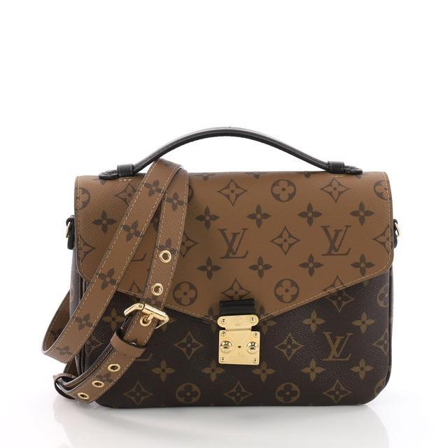 Louis Vuitton Pochette Metis Reverse Monogram Canvas Bag