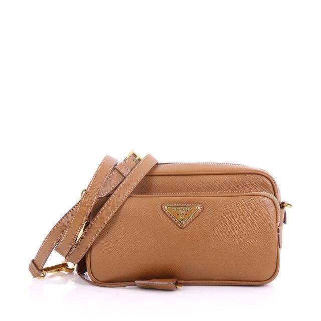 Prada Front Pocket Crossbody Bag