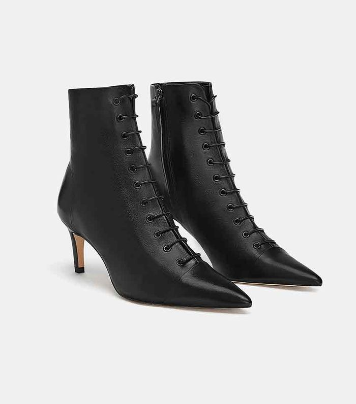 809d1ac1b39 Zara Pointed Ankle Boots ( 149) · Pinterest