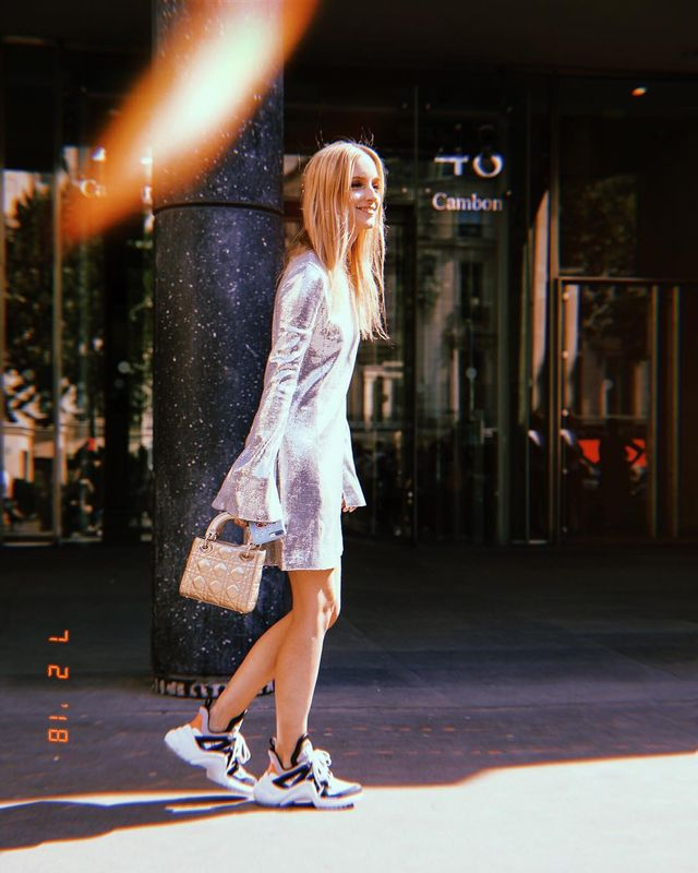 How to Pull Off Sneakers With Your Holiday Outfits