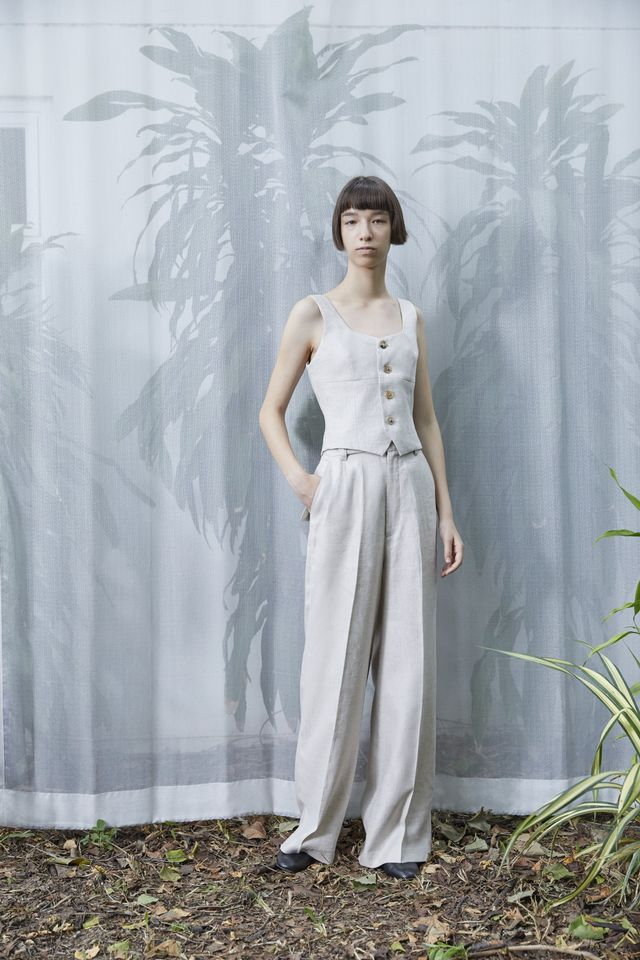 A Personal Uniform Turrell Linen Trousers