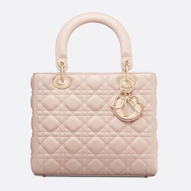 Dior Lady Dior Lambskin Bag