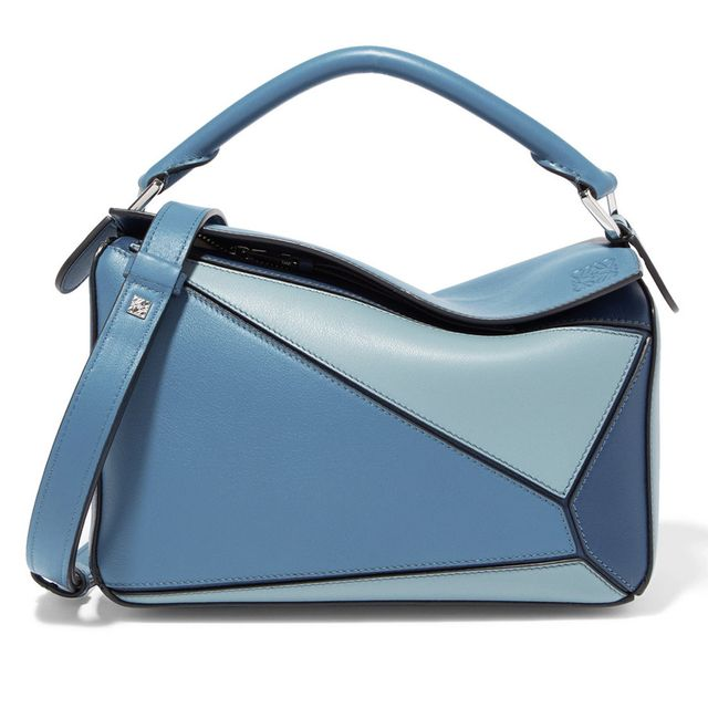 Loewe Puzzle Small Colour Block Leather Bag 1725
