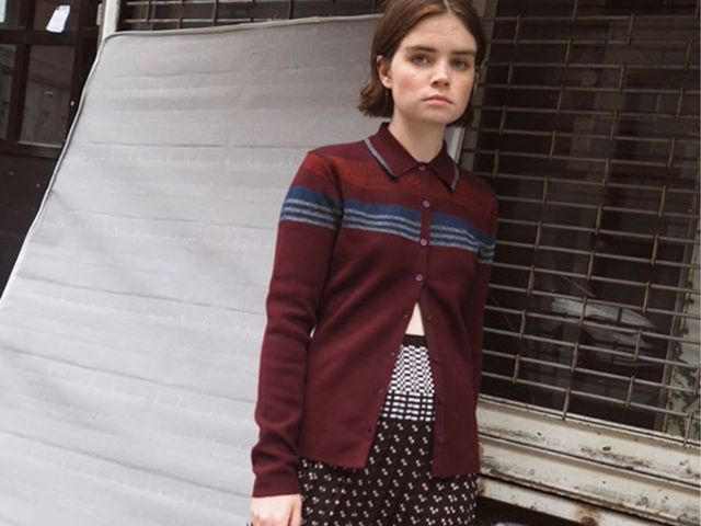 Knit Pleated Skirts