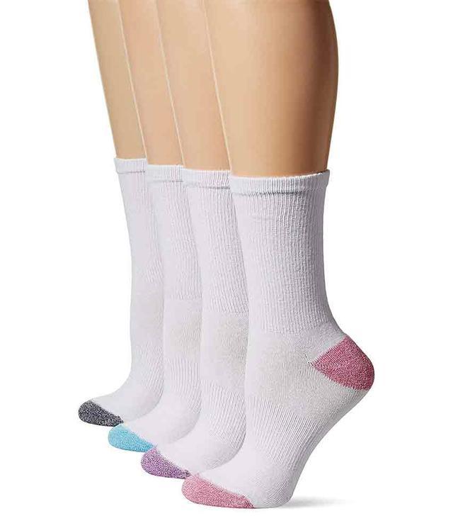 Hanes 4-Pack Sport Cool Comfort Crew Socks
