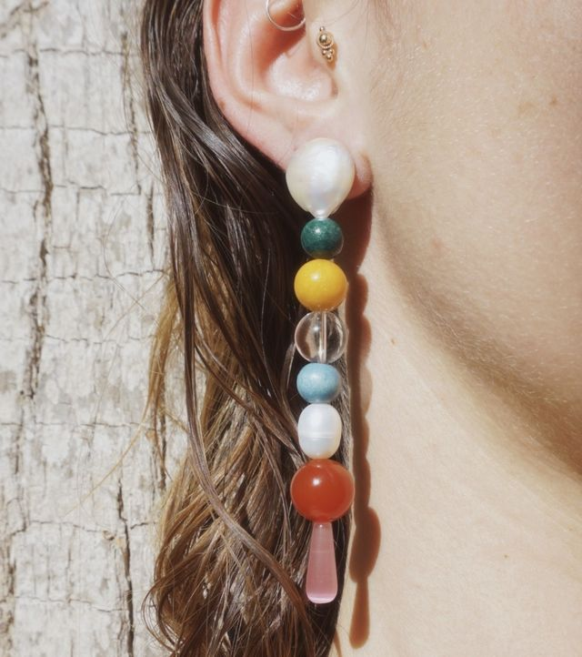 NST Rainbow Drop Earrings