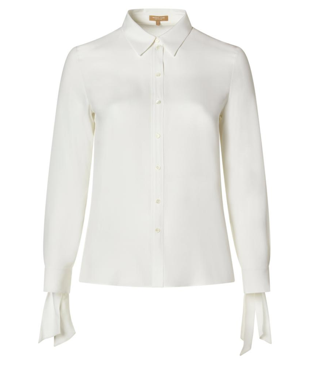 Michael Kors Collection Steamer Sleeve Classic Shirt