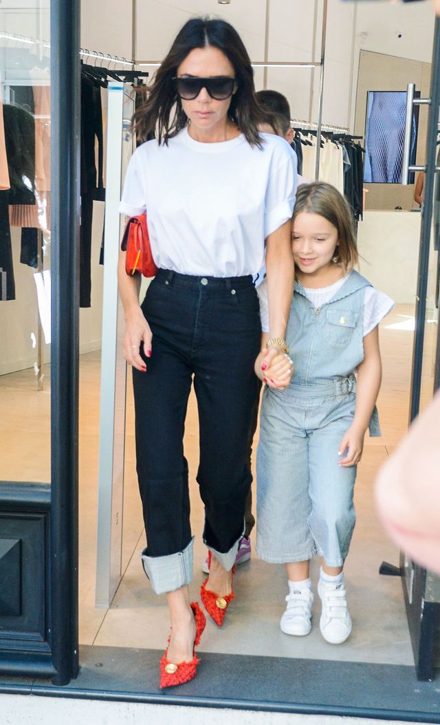 Victoria Beckham Jeans Outfit