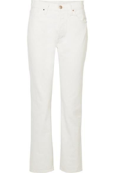 Benefit High-rise Straight-leg Jeans