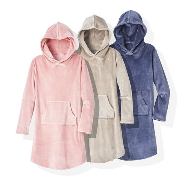 Softies Ultra Soft Hooded Snuggle Lounger