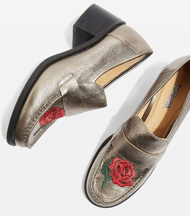 KRAYON Embroidered Loafers