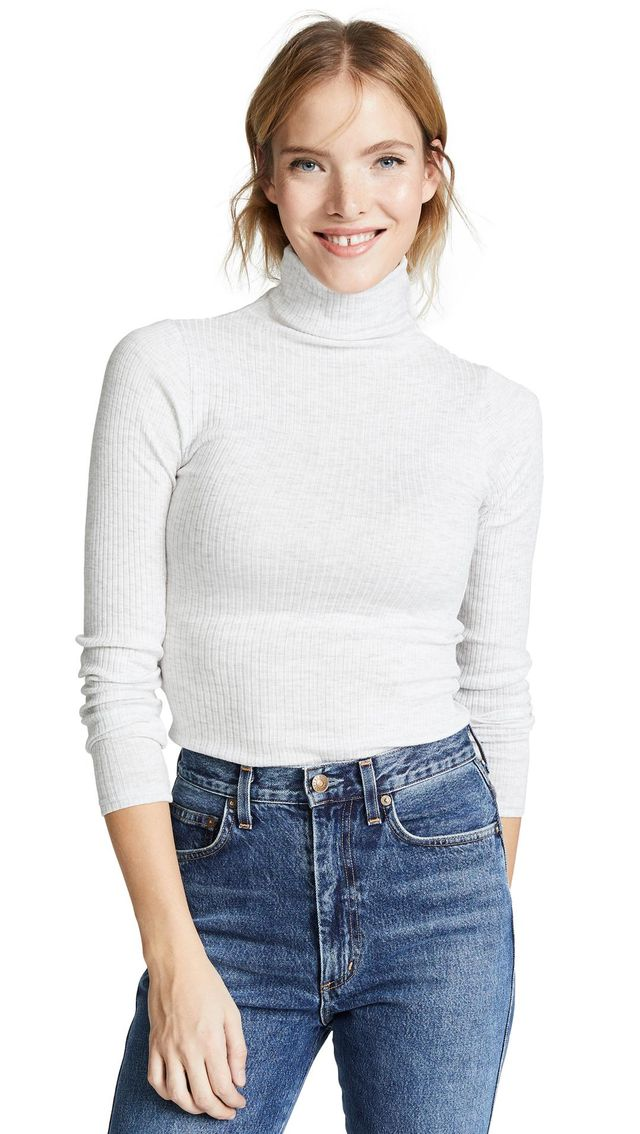 Julie Rib Turtleneck