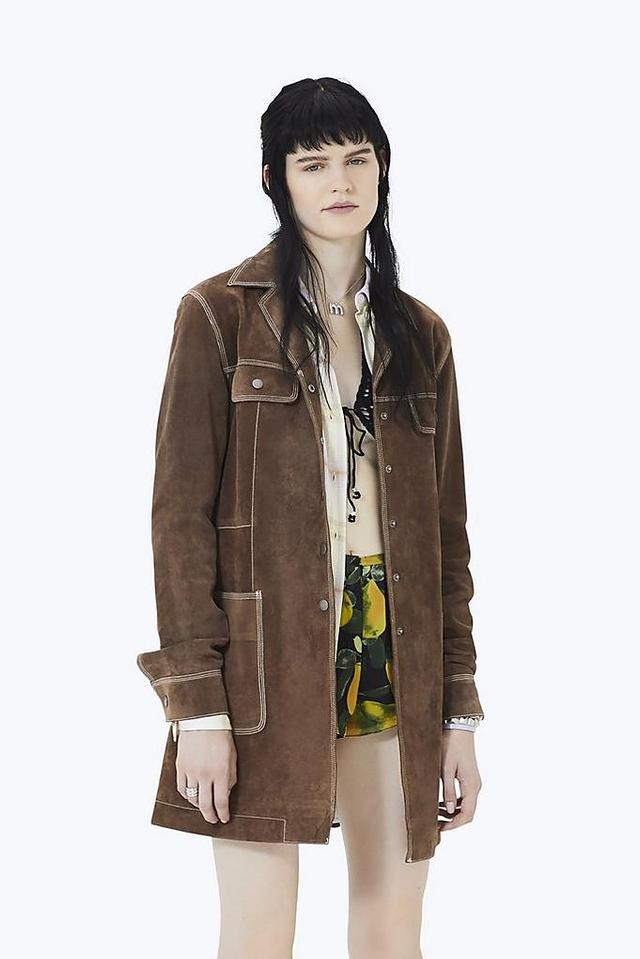 Marc Jacobs Suede Coat
