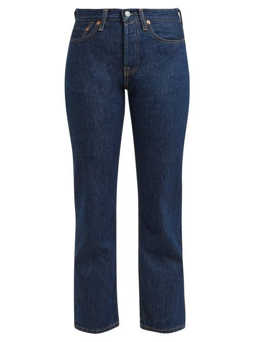 - 1997 Straight Leg Jeans - Womens - Indigo
