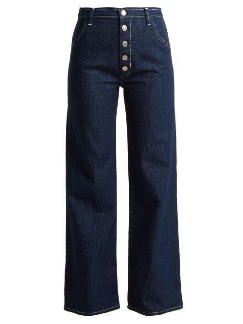 - Paradise High Rise Jeans - Womens - Indigo