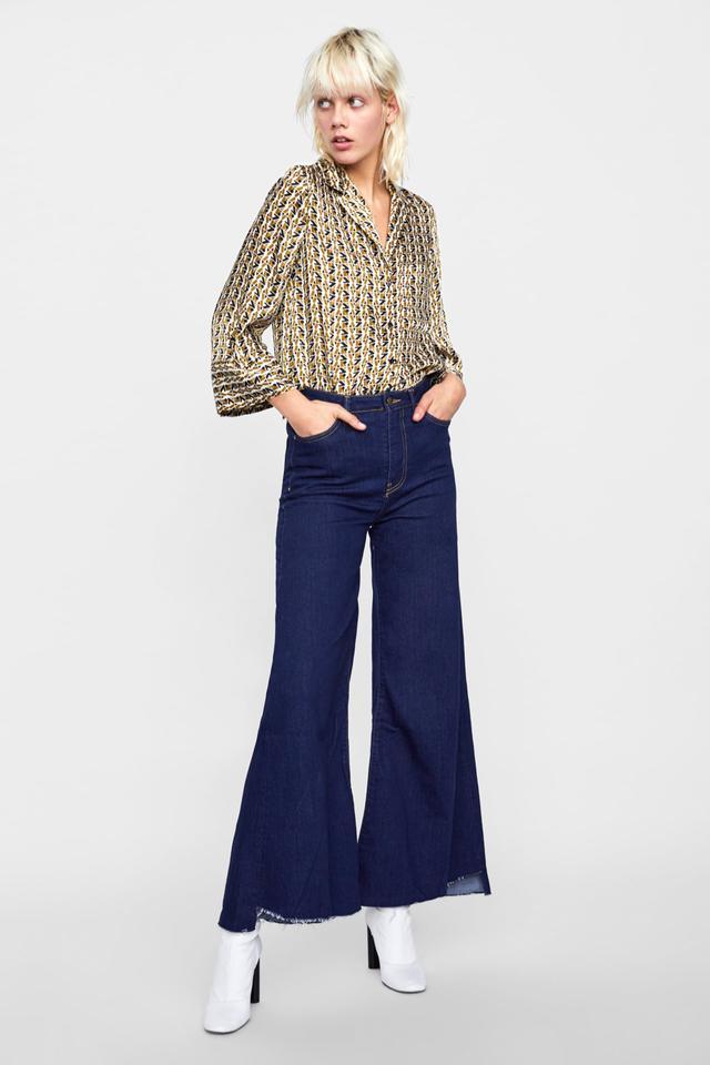 Zara Wide Leg Z1975 Jeans