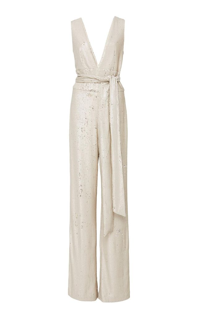 Chrissy Sequin Jumpsuit